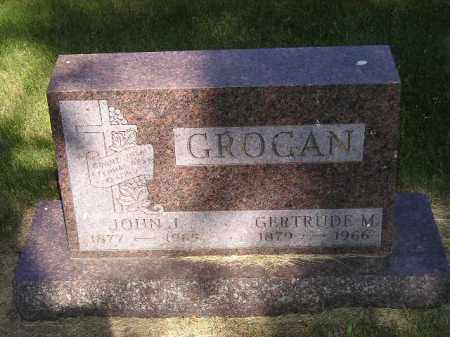 GROGAN, GERTRUDE M. - Kingsbury County, South Dakota   GERTRUDE M. GROGAN - South Dakota Gravestone Photos