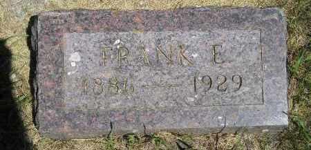 HALEY, FRANK E. - Kingsbury County, South Dakota   FRANK E. HALEY - South Dakota Gravestone Photos
