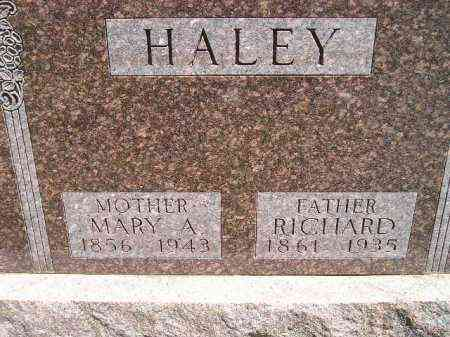 HALEY, MARY A. - Kingsbury County, South Dakota | MARY A. HALEY - South Dakota Gravestone Photos