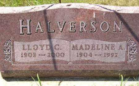 HALVERSON, MADELINE A. - Kingsbury County, South Dakota | MADELINE A. HALVERSON - South Dakota Gravestone Photos