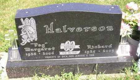 "HALVERSON, MARGARET ""PEG"" - Kingsbury County, South Dakota 