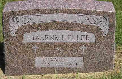 HASENMUELLER, EDWARD J. - Kingsbury County, South Dakota | EDWARD J. HASENMUELLER - South Dakota Gravestone Photos