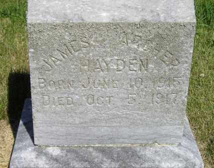 HAYDEN, JAMES ARCHER - Kingsbury County, South Dakota   JAMES ARCHER HAYDEN - South Dakota Gravestone Photos