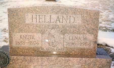 HELLAND, KNUTE - Kingsbury County, South Dakota | KNUTE HELLAND - South Dakota Gravestone Photos
