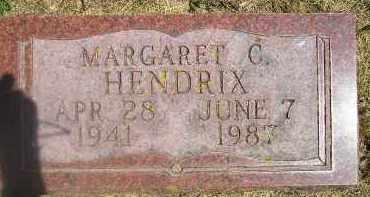 HENDRIX, MARGARET C. - Kingsbury County, South Dakota | MARGARET C. HENDRIX - South Dakota Gravestone Photos