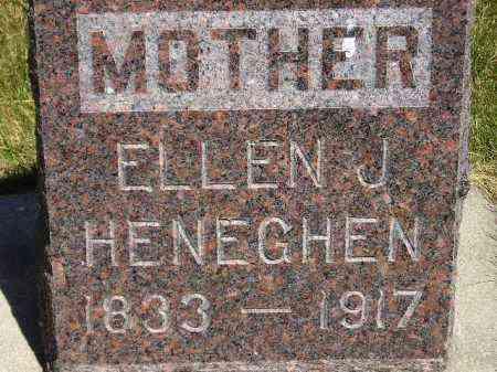 HENEGHEN, ELLEN J. - Kingsbury County, South Dakota   ELLEN J. HENEGHEN - South Dakota Gravestone Photos