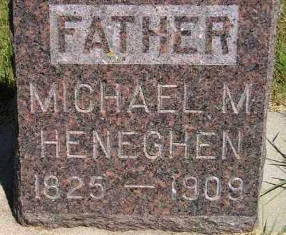 HENEGHEN, MICHAEL M. - Kingsbury County, South Dakota | MICHAEL M. HENEGHEN - South Dakota Gravestone Photos