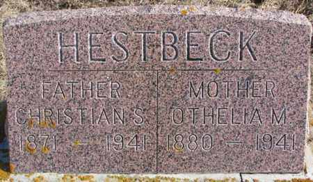 HESTBECK, CHRISTIAN S. - Kingsbury County, South Dakota | CHRISTIAN S. HESTBECK - South Dakota Gravestone Photos