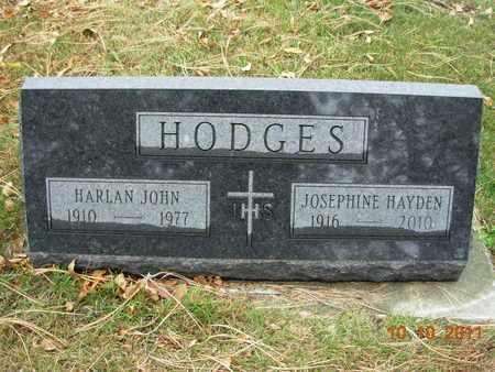 HAYDEN HODGES, JOSEPHINE E - Kingsbury County, South Dakota | JOSEPHINE E HAYDEN HODGES - South Dakota Gravestone Photos