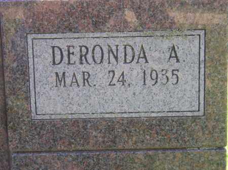 HUNTER, DERONDA A. (CLOSEUP) - Kingsbury County, South Dakota | DERONDA A. (CLOSEUP) HUNTER - South Dakota Gravestone Photos