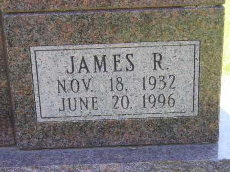 HUNTER, JAMES R. (CLOSEUP) - Kingsbury County, South Dakota   JAMES R. (CLOSEUP) HUNTER - South Dakota Gravestone Photos