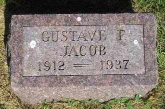 JACOB, GUSTAVE F. - Kingsbury County, South Dakota | GUSTAVE F. JACOB - South Dakota Gravestone Photos