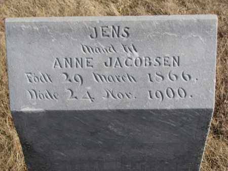 JACOBSEN, JENS - Kingsbury County, South Dakota | JENS JACOBSEN - South Dakota Gravestone Photos