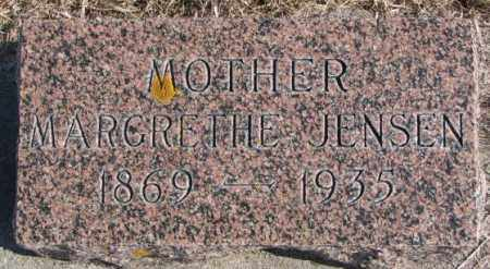 JENSEN, MARGARETHE - Kingsbury County, South Dakota | MARGARETHE JENSEN - South Dakota Gravestone Photos