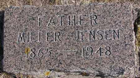JENSEN, MILLER - Kingsbury County, South Dakota | MILLER JENSEN - South Dakota Gravestone Photos