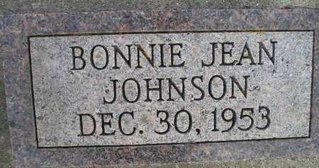 JOHNSON, BONNIE JEAN - Kingsbury County, South Dakota | BONNIE JEAN JOHNSON - South Dakota Gravestone Photos