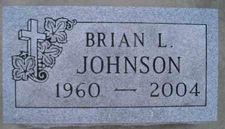 JOHNSON, BRIAN L - Kingsbury County, South Dakota | BRIAN L JOHNSON - South Dakota Gravestone Photos