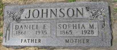JOHNSON, DANIEL E - Kingsbury County, South Dakota | DANIEL E JOHNSON - South Dakota Gravestone Photos