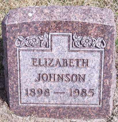 JOHNSON, ELIZABETH NINA - Kingsbury County, South Dakota | ELIZABETH NINA JOHNSON - South Dakota Gravestone Photos