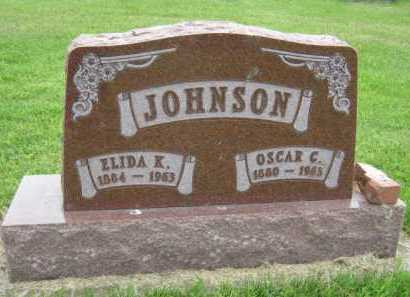 JOHNSON, ELIDA K - Kingsbury County, South Dakota | ELIDA K JOHNSON - South Dakota Gravestone Photos