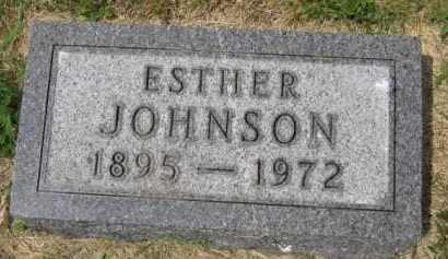 JOHNSON, ESTHER - Kingsbury County, South Dakota | ESTHER JOHNSON - South Dakota Gravestone Photos