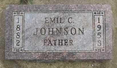 JOHNSON, EMIL C - Kingsbury County, South Dakota | EMIL C JOHNSON - South Dakota Gravestone Photos
