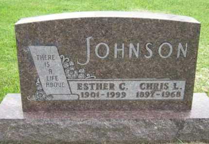 JOHNSON, CHRIS L - Kingsbury County, South Dakota | CHRIS L JOHNSON - South Dakota Gravestone Photos