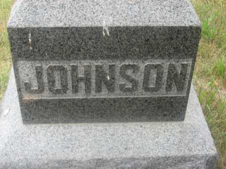JOHNSON, FAMILY STONE - Kingsbury County, South Dakota   FAMILY STONE JOHNSON - South Dakota Gravestone Photos