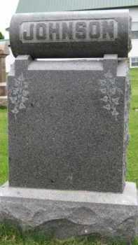 JOHNSON, FAMILY - Kingsbury County, South Dakota | FAMILY JOHNSON - South Dakota Gravestone Photos