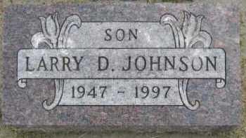 JOHNSON, LARRY D - Kingsbury County, South Dakota | LARRY D JOHNSON - South Dakota Gravestone Photos