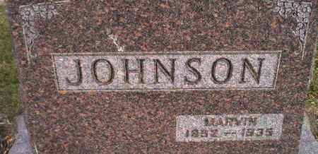 JOHNSON, MARVIN - Kingsbury County, South Dakota   MARVIN JOHNSON - South Dakota Gravestone Photos