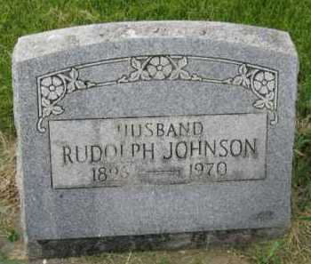 JOHNSON, RUDOLPH - Kingsbury County, South Dakota | RUDOLPH JOHNSON - South Dakota Gravestone Photos