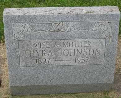 JOHNSON, THYRA - Kingsbury County, South Dakota | THYRA JOHNSON - South Dakota Gravestone Photos