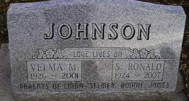 JOHNSON, S RONALD - Kingsbury County, South Dakota | S RONALD JOHNSON - South Dakota Gravestone Photos