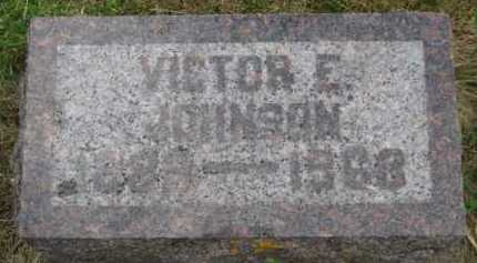 JOHNSON, VICTOR E - Kingsbury County, South Dakota | VICTOR E JOHNSON - South Dakota Gravestone Photos