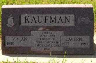 KAUFMAN, LAVERNE - Kingsbury County, South Dakota | LAVERNE KAUFMAN - South Dakota Gravestone Photos