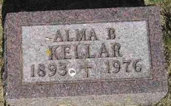 KELLAR, ALMA B. - Kingsbury County, South Dakota   ALMA B. KELLAR - South Dakota Gravestone Photos