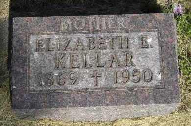 KELLAR, ELIZABETH E. - Kingsbury County, South Dakota | ELIZABETH E. KELLAR - South Dakota Gravestone Photos
