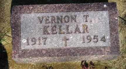 KELLAR, VERNON T. - Kingsbury County, South Dakota | VERNON T. KELLAR - South Dakota Gravestone Photos