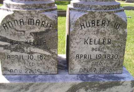 KELLER, HUBERT W. - Kingsbury County, South Dakota | HUBERT W. KELLER - South Dakota Gravestone Photos