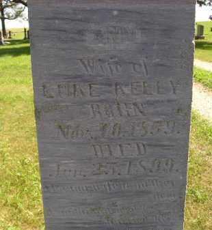 KELLY, ANN - Kingsbury County, South Dakota   ANN KELLY - South Dakota Gravestone Photos