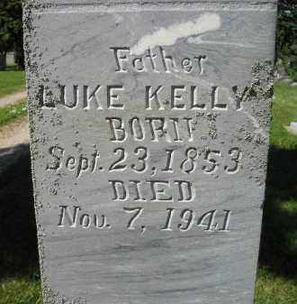 KELLY, LUKE - Kingsbury County, South Dakota | LUKE KELLY - South Dakota Gravestone Photos