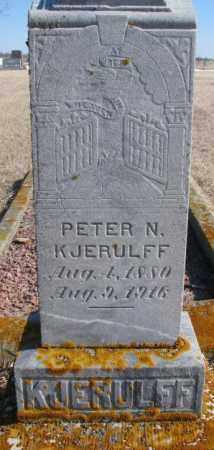 KJERULFF, PETER N. - Kingsbury County, South Dakota | PETER N. KJERULFF - South Dakota Gravestone Photos