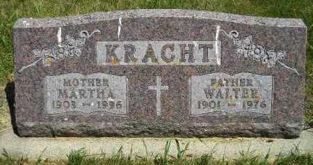 KRACHT, WALTER - Kingsbury County, South Dakota | WALTER KRACHT - South Dakota Gravestone Photos