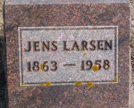 LARSEN, JENS - Kingsbury County, South Dakota   JENS LARSEN - South Dakota Gravestone Photos