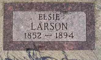 LARSON, ELSIE - Kingsbury County, South Dakota | ELSIE LARSON - South Dakota Gravestone Photos