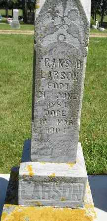LARSON, FRANS O. - Kingsbury County, South Dakota | FRANS O. LARSON - South Dakota Gravestone Photos
