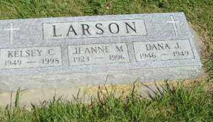 LARSON, DANA J. - Kingsbury County, South Dakota | DANA J. LARSON - South Dakota Gravestone Photos