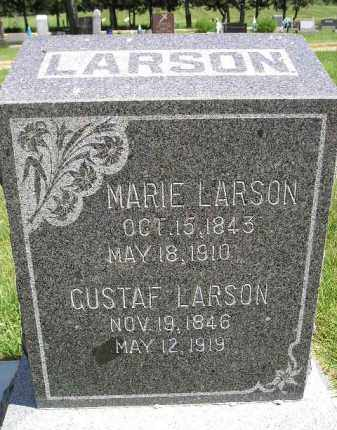 LARSON, GUSTAF - Kingsbury County, South Dakota | GUSTAF LARSON - South Dakota Gravestone Photos