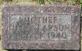 LARSON, MARY - Kingsbury County, South Dakota | MARY LARSON - South Dakota Gravestone Photos